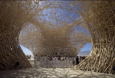 Burning Man Uchronia