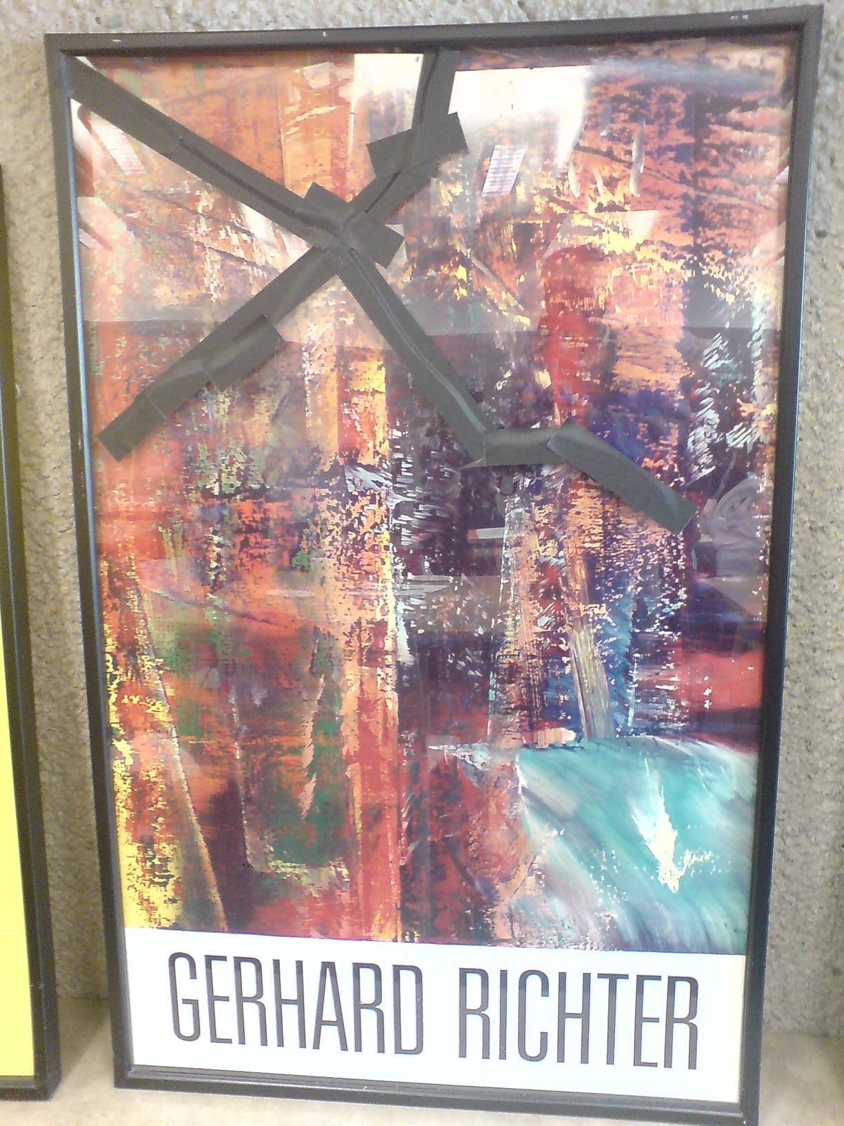gerhard richter plakat