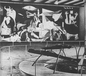 Image result for guernica painting in paris 1937