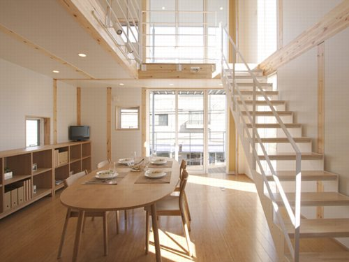 Yet another muji house for Pretty houses inside