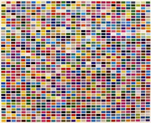 How To Make A Gerhard Richter Color Chart Painting Greg