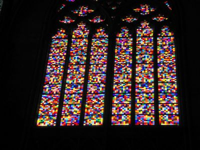 Richter on Gerhard Richter S Design For The Stained Glass Window In The K  Ln
