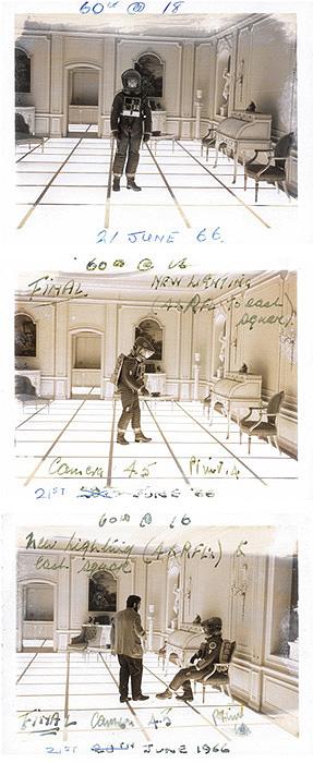 From the Stanley Kubrick project at the Deutsches Filmmuseum, image:stanleykubrick.de
